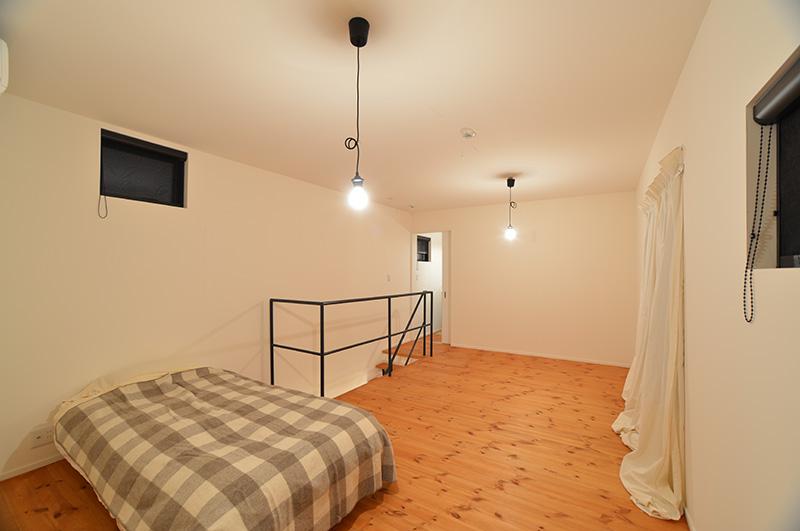 無垢の家 二階の部屋