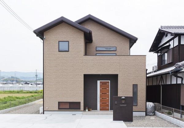 三ツ松の家の外観