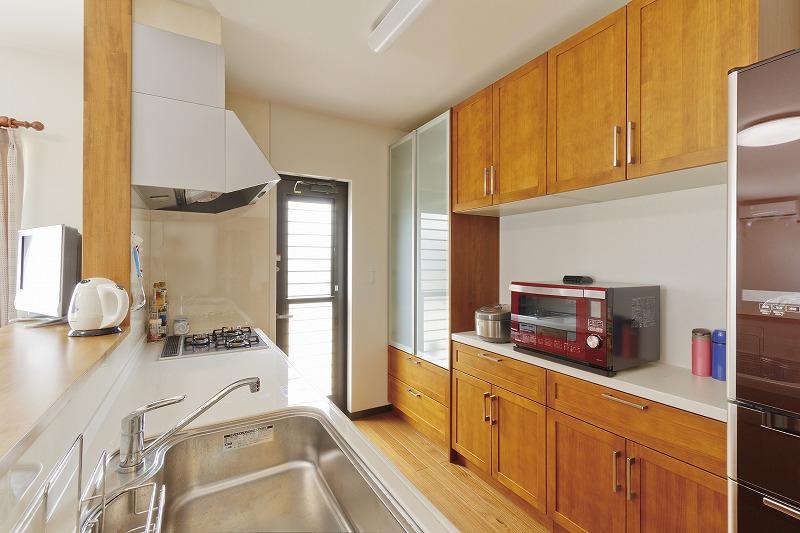三ツ松の家 キッチン