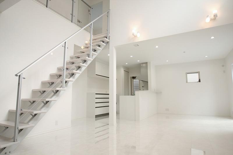 リビングと階段