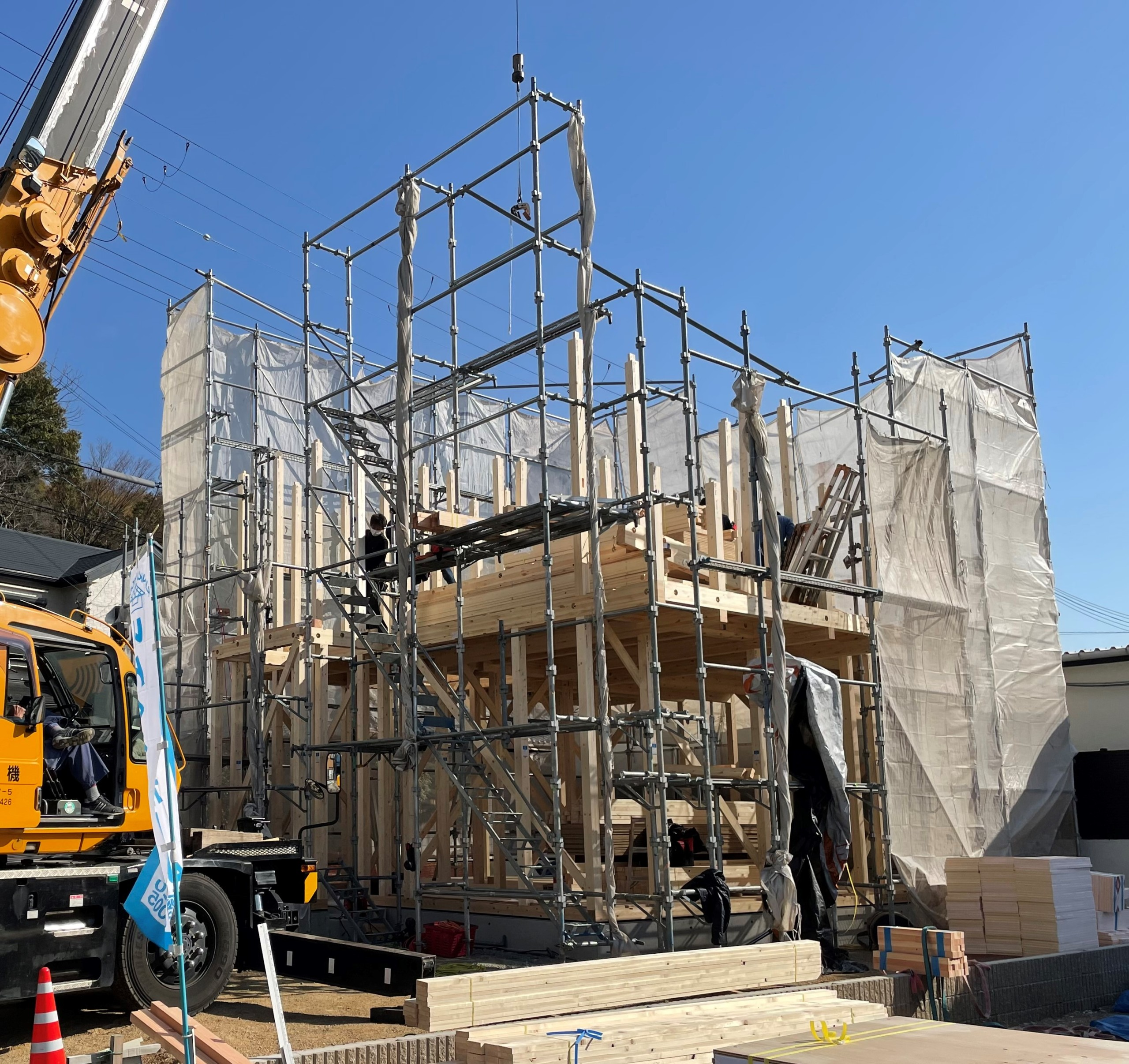 貝塚市 新築工事開始です
